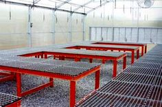 """Visit our web site for additional information on """"greenhouse ideas interior design"""". It is actually an excellent spot for more information. Greenhouse Tables, Best Greenhouse, Backyard Greenhouse, Greenhouse Growing, Greenhouse Plans, Homemade Greenhouse, Garden Center Displays, Plant Table, Grow Room"""