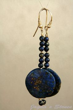 Lapis Lazuli earrings :)