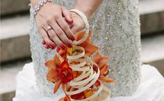 This Bride Wore Her Bouquet As aBracelet!