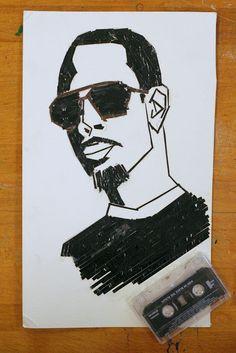 Dream. Pray. Create.: Lesson idea: Cassette Tape Portraits