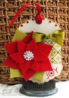 not your 2nd grade homemade Christmas ornament