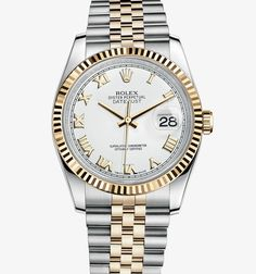 Rolex Oyster Perpetual Datejust in two-tone 18k gold. Want this for my 20y anniversary (or 15 :)