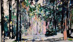 Grenzweg 2011 Öl auf Leinwand, 140 x 240 cm