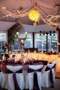 Nicole and Tommy - reception decor - photo courtesy of Cadey Reisner Weddings #BlackHillsReceptions