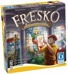 Fresco: The Glaziers (Fresko: Die Glaser) - Board Game - New #QueenGames