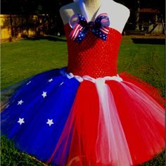 Fourth of July Tutu Dresses for Girls