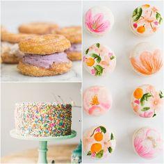 Yummy Wedding Desserts for the Fun Artistic Bride