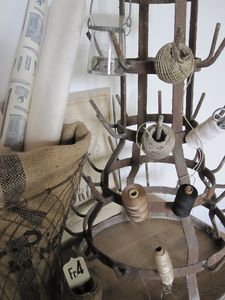 French bottle drying rack. So smart! #LaBoutiqueVintage