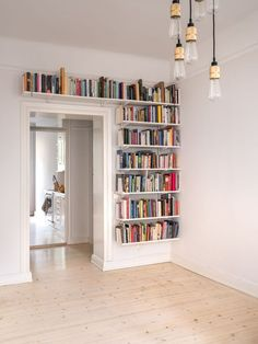 interior design for small space 55 unique and creative bookshelves design. interior design for small space 55 unique and creative bookshelves design ideas Bookshelves For Small Spaces, Creative Bookshelves, Bookshelf Design, Bookshelf Ideas, Bookshelf Decorating, Decorating Ideas, Library Shelves, Wall Of Bookshelves, Bookcases