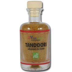 Tandoori bio Mélange du Nord : épices bio parfumées appréciées pour son goût léger et pour stimuler la vitalité. #ayurveda #épices