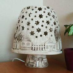 """Gefällt 24 Mal, 4 Kommentare - Marta Vítková (@vitkmarta) auf Instagram: """"#keramika #ceramics #lampa #home #homedecor #hlina #pottery"""""""