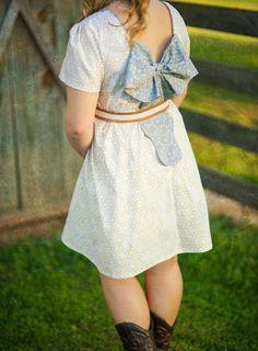 Piper Misses Bow Dress & Top PDF Pattern par VioletteFieldThreads