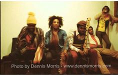 *The Wailers* More fantastic pictures, music and videos of *Bob Marley & The Wailers* on: https://de.pinterest.com/ReggaeHeart/ ©Dennis Morris