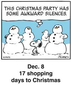 Peanuts Holiday Countdown