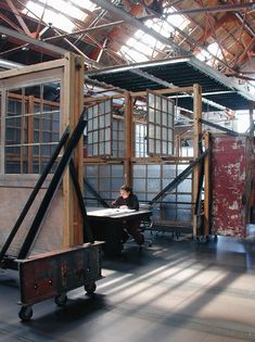 Oh My God! Oh My God! Oh MY GOD! Olson Kundig are the coolest Architects out there!