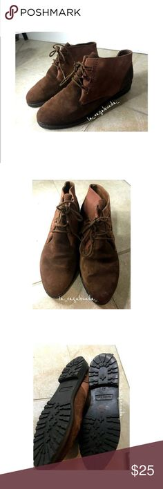 Vintage Sandro Carra Brown Boots Vintage Sandro Carra Brown Boots Suede Made in Italy EU Size 40/ US Size 7 Almost new condition Sandro Carra Shoes Ankle Boots & Booties