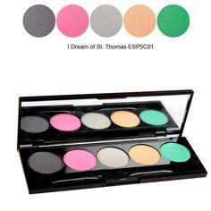 Paleta farduri NYX  5 Color Eye Shadow I Dream of St Thomas doar pe http://www.makeup-shop.ro
