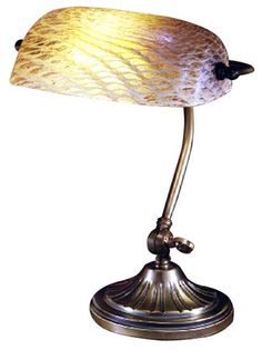 Tiffany Red Banker's lamp | Bankers Lamps | Pinterest | Tiffany ...