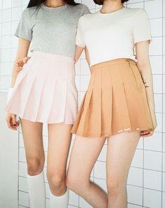 Korean Fashion – How to Dress up Korean Style – Designer Fashion Tips Korean Fashion Trends, Korean Street Fashion, Korea Fashion, Asian Fashion, Skirt Fashion, Fashion Outfits, Womens Fashion, Fashion 2017, Cute Skirts