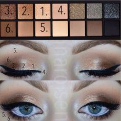 Loveeee this look...I'll be recreating this look on myself using smashbox full exposure pallette....