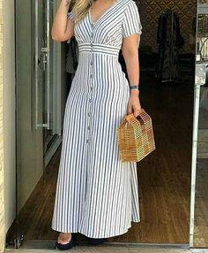 Stylish Dresses, Simple Dresses, Beautiful Dresses, Casual Dresses, Long Dress Fashion, Fashion Dresses, Casual Frocks, Modesty Fashion, Frock Design