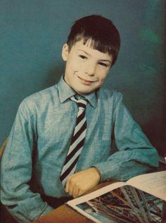 Young John Simon Ritchie aka Sid Vicious, (age 10?)