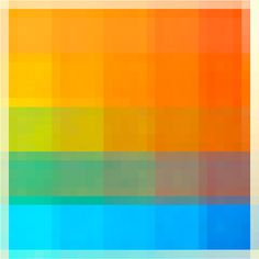 Like colours - warm to cold. Try with green. Like saturation changes across