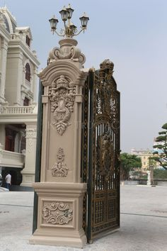 Thiết kế lâu đài cổ điển tổng Hải Sơn - Hà Nam