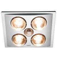 Heat Lamp Bath Fan Give your bathroom an instant boost in heat