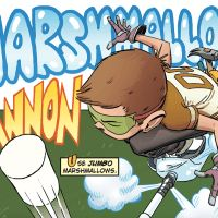 Howtoons: Build a Marshmallow-Shooting Stomp Cannon