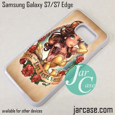 Belle Beauty And The Beast Phone Case for Samsung Galaxy S7 & S7 Edge