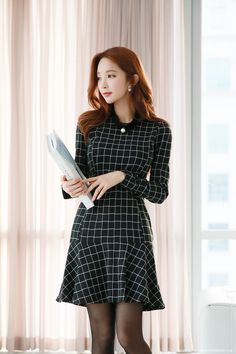 Romantic & Trendy Looks, Styleonme Dress Outfits, Fashion Dresses, Dress Up, Cute Outfits, Chinese Model, Beauty Photos, Korean Women, Asian Fashion, Asian Woman