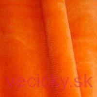 Kojenecký plyš oranžový