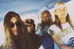 Sean Kinney, Mike Starr, Layne Staley, and Jerry Cantrell - Alice in Chains