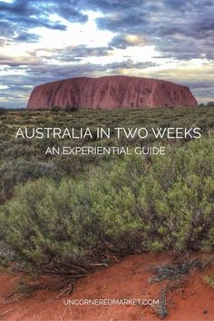 Australia in two weeks. 24 experience ideas for a two week Australia trip to make the most of your time in this vast and diverse country.