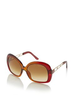 Hot! Roberto Cavalli Magnolia Red Orang/Brown Sunglasses <3