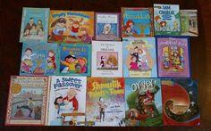 Lot 17 Children's Books Judaism Shabbat Hanukkah Purim Passover Esther Jewish