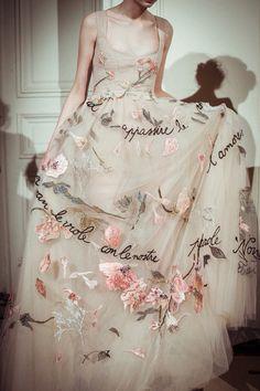 Valentino spring , con le nostre parole, l'amoureuxHaute couture pre-fall 2015 Runway Fashion, High Fashion, Cinderella 2015, Ring Verlobung, Couture Dresses, The Dress, Dream Dress, Bridal Style, Costume