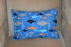 Travel Pillow Case / Child Pillow Case of by BlessingMercantile