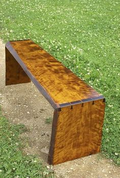 Dovetailed bench by rtiit on Etsy, $1600.00