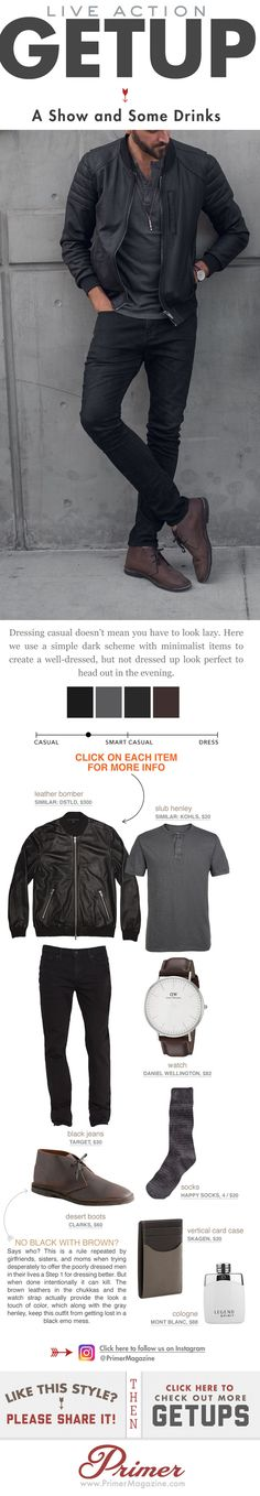 What to wear to a show and drinks