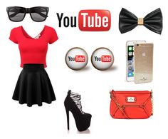 """""""In Love with Youtube"""" by holly32196 ❤ liked on Polyvore"""