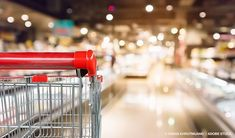 How AI Can Reduce Grocery Food Waste  #foodwaste Online Grocery Store, Recycling Bins, Food Waste, Stock Photos, Canning, Interior, Blur, Empty, Shopping