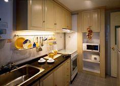 20 Spacious Small Kitchen Ideas Apartment kitchen Small