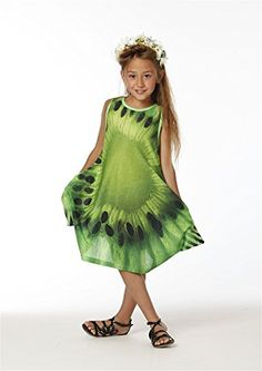 KidCuteTure Girls Fiona Sundress in Kiwi Size 10 >>> You can get additional details at the image link.