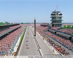Indianapolis, Indiana  The Indy 500 race each year in May