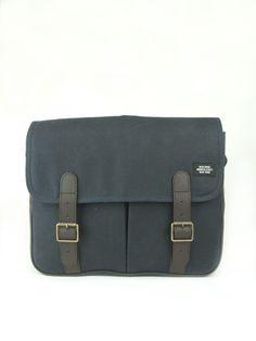 FOR DAD: Jack Spade's navy messenger bag