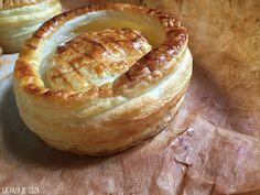 20 Rellenos de Volovanes (Vol-au-vent) Vol Au Vent, Camembert Cheese, Tapas, Sandwiches, Pudding, Pie, Cooking, Desserts, Anna Olson