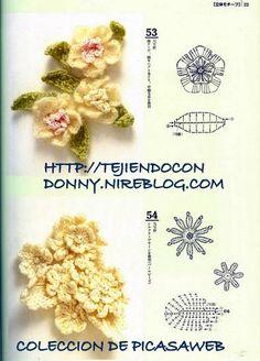 Watch The Video Splendid Crochet a Puff Flower Ideas. Phenomenal Crochet a Puff Flower Ideas. Crochet Puff Flower, Crochet Flower Tutorial, Crochet Flower Patterns, Love Crochet, Irish Crochet, Crochet Flowers, Knit Crochet, Crochet Motifs, Crochet Diagram