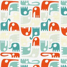 "Pattern ""Elephants"" by ankepanke from Heerlen"